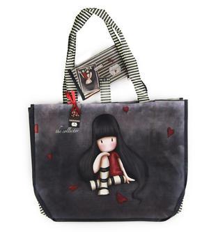 Collector - Large Woven Shopper Bag By Gorjuss