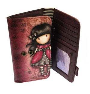 Ladybird Long Wallet By Gorjuss