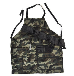 Action Man Camo BBQ Apron with Built In Beer Holsters and Bottle Opener
