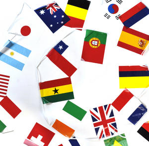 International Flags Bunting Garland Thumbnail 1
