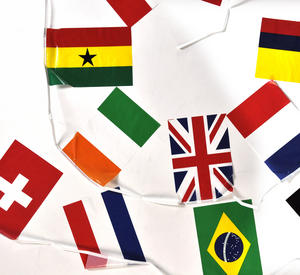 International Flags Bunting Garland Thumbnail 2