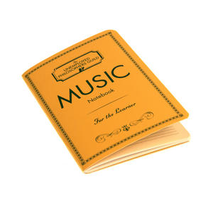 Composers Music Notebook with Sheet Music Pages