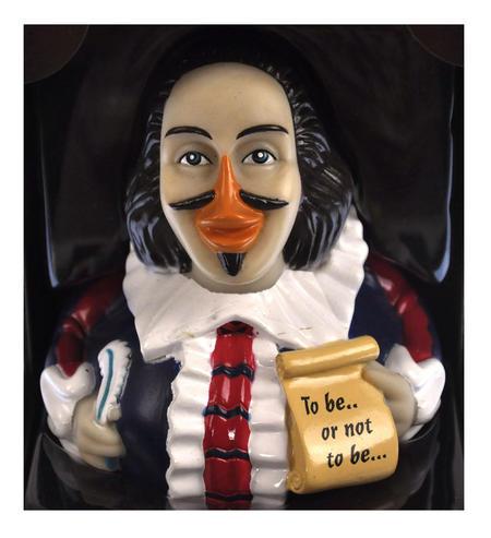 Shakespeare Rubber Duck - Celebriduck