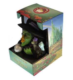 Wicked Witch of the West - Wizard of Oz Rubber Duck - Celebriduck Thumbnail 2