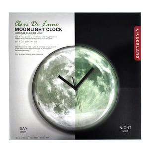 Clair de lune Moonlight Wall Clock - Glow in the Dark Thumbnail 3