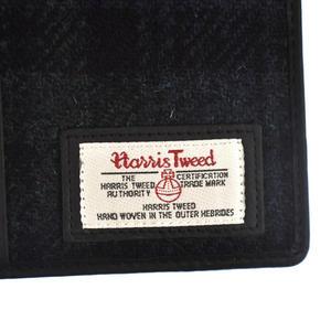 Blackwatch  Harris Tweed Travel Wallet Thumbnail 4