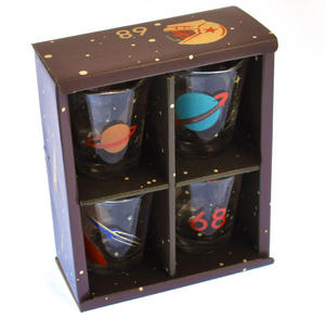 Cosmonauts - 4 Shot Glass Cosmos Set Thumbnail 3