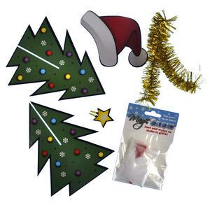 Christmas Desk Instant Decoration Kit