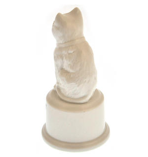"World's Best Cat Trophy -  Ceramic Cat 5"" / 12.7 cm Thumbnail 5"