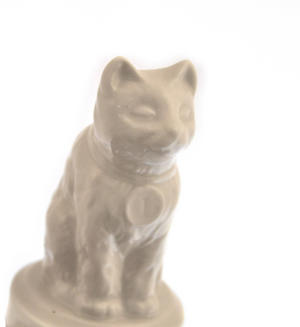 "World's Best Cat Trophy -  Ceramic Cat 5"" / 12.7 cm Thumbnail 6"