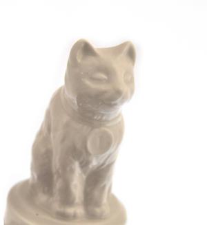"""World's Best Cat Trophy -  Ceramic Cat 5"""" / 12.7 cm Thumbnail 6"""