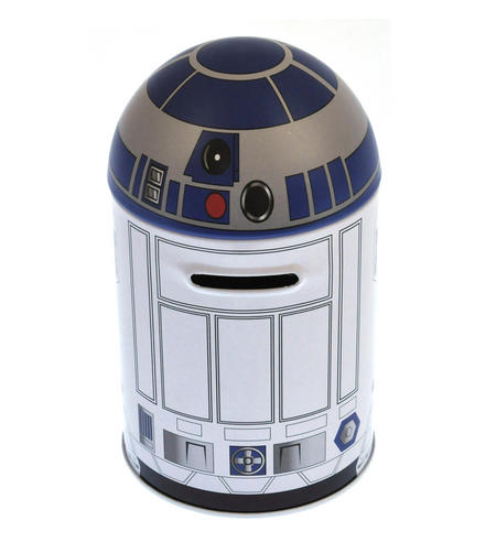 Star Wars R2D2 Money Savings Tin