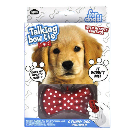 Talking Bow Tie for Dogs with Remote Control