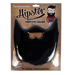 Black Hipster Beard Thumbnail 1