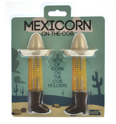 Mexicorn On The Cob - 2 Sets of Corn On The Cob Holders