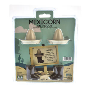 Mexicorn On The Cob - 2 Sets of Corn On The Cob Holders Thumbnail 2
