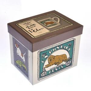 Gussell - 1st Class Mug - Magpie Mug by Charlotte Farmer - Jack Russell Terrier & Golden Retriever Thumbnail 2