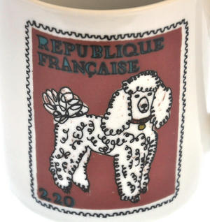 Boodle- 1st Class Mug - Magpie Mug by Charlotte Farmer - British Bulldog & French Poodle Thumbnail 4