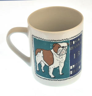 Boodle- 1st Class Mug - Magpie Mug by Charlotte Farmer - British Bulldog & French Poodle Thumbnail 5