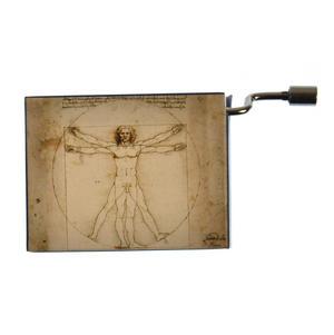 """Art Music Box - Michelangelo """"Divina Proportione"""" & Beethoven """"Für Elise"""" / """"For Elise"""""""
