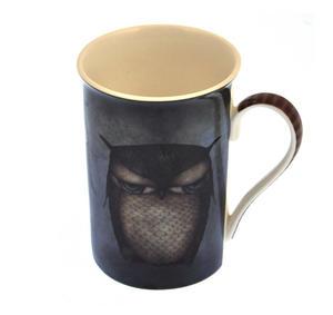 Grumpy Owl Tall Mug in a Gift Box Thumbnail 3