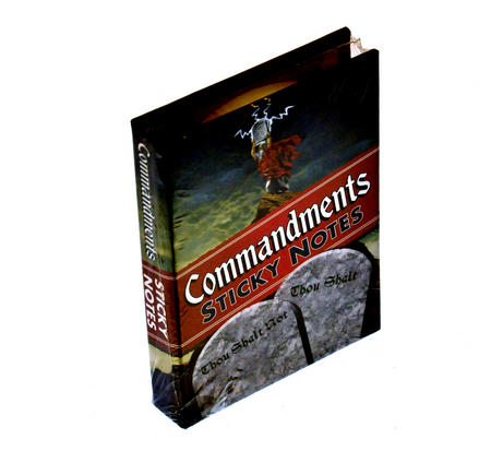 Commandments Sticky Notes - Thou Shalt / Thou Shalt Not