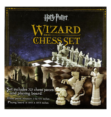 Harry Potter 32 Piece Wizard Chess Set