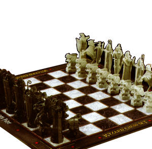 Harry Potter 32 Piece Wizard Chess Set Thumbnail 2