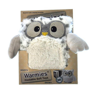 Snowy Heatable Hooty - Warmies Microwavable Soft Owl