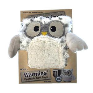 Snowy Heatable Hooty - Warmies Microwavable Soft Owl