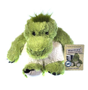 Cozy Plush Dinosaur - Warmies Microwavable Soft Toy