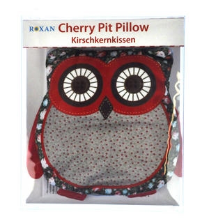 Owl Cherry Pit Pillow - Random Tartan or Floral - Microwavable Thumbnail 4