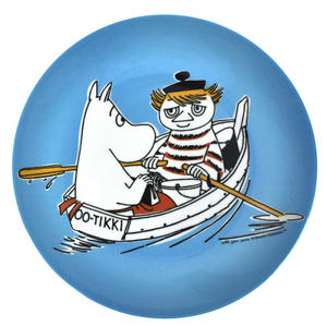 Moomin Blue Dessert Plate - Too Tiki Boat Thumbnail 1