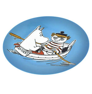 Moomin Blue Dessert Plate - Too Tiki Boat Thumbnail 2