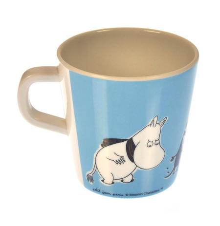 Moomin Small Mug - Blue - Scarf