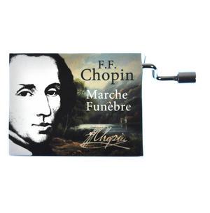 "Chopin in a Box - ""Funeral March"" / ""Marche funèbre""  Handcrank Music Box"