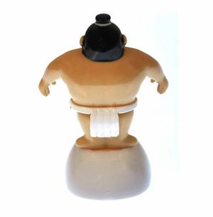 Solar Sumo Wrestler - 10cm Movable Figurine with Solar Cell Thumbnail 3