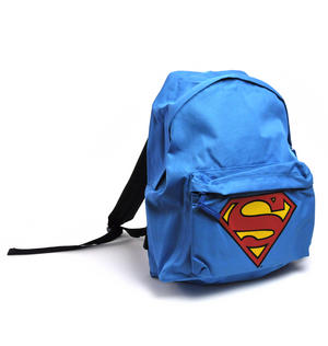 Superman Sky Blue Backpack