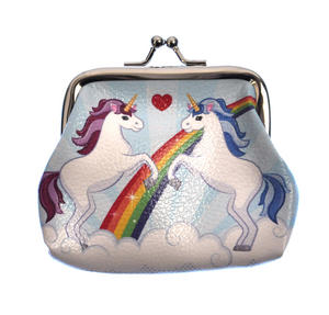 Unicorns Clasp Purse