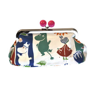 Moomin and Friends - Orange and White Envelope Clutch