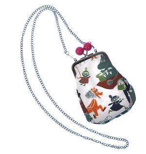 Moomin and Friends - Orange and Small Purse  / Cross Body Bag