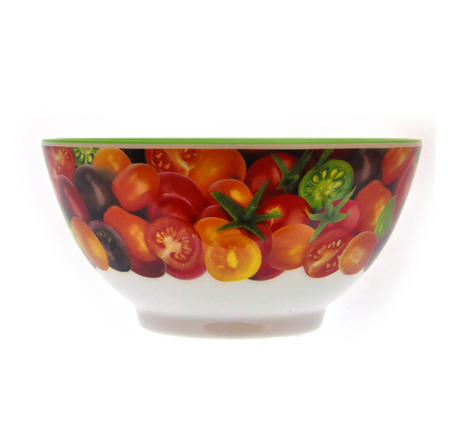 Cherry Tomatoes - 15cm Melamine Bowl