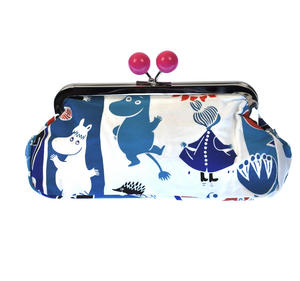 Moomin and Friends - Blue Envelope Clutch Purse