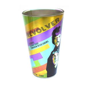 Beatles Metallic Pint Glass Set- 4 Classic Art Psychedelic Glasses Thumbnail 3