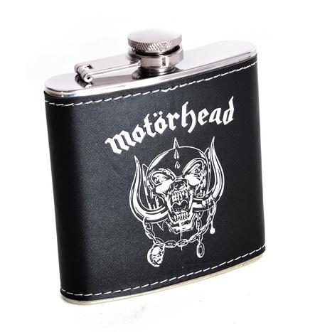Motörhead Hip Flask - Toast Lemmy - the original Motorhead