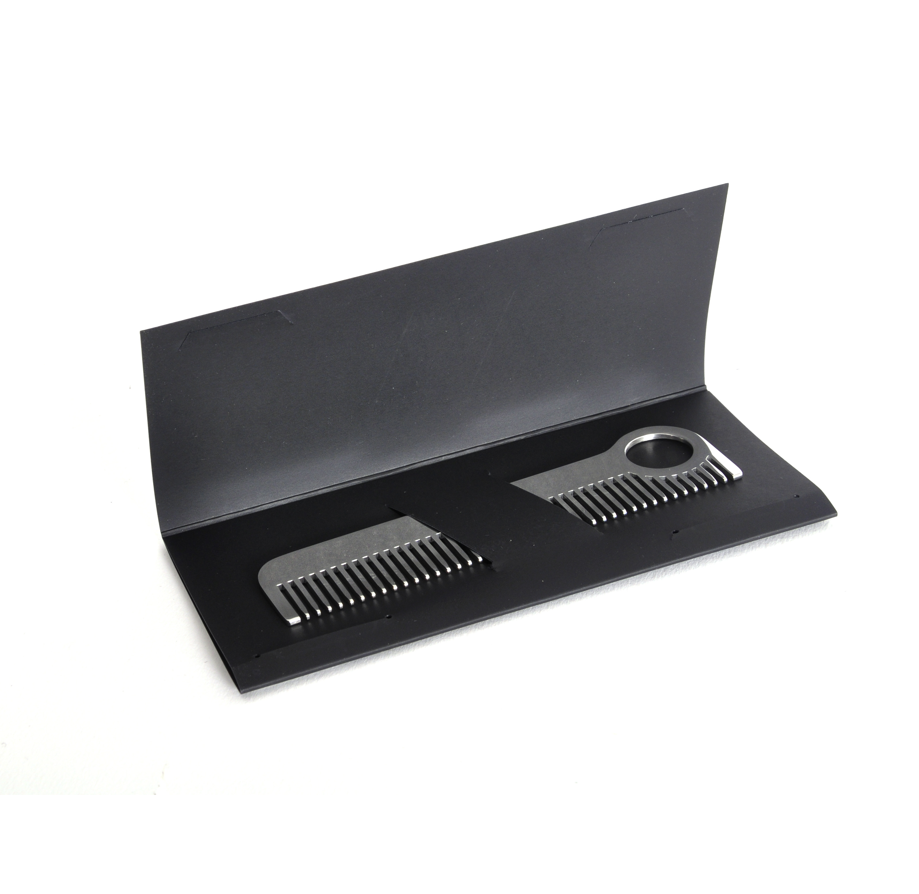 beard comb model no 1 mirror steel moustache and beard grooming tool. Black Bedroom Furniture Sets. Home Design Ideas
