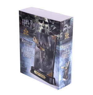 Harry Potter Replica Basilisk Fang and Tom Riddles Diary Noble Collection Thumbnail 2