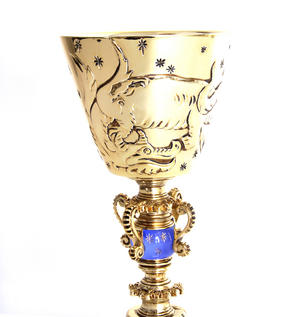 Harry Potter Replica Dumbledore's Cup Noble Collection Thumbnail 4