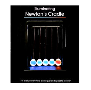 Illuminating Newton's Cradle Thumbnail 2