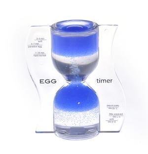 Paradox Blue Egg Timer - Watch the Purple Bubbles Defy Gravity Thumbnail 3